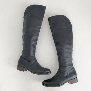 Alberto Fermani Over The Knee Leather Boots 39.5